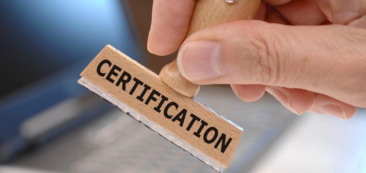 Кто и как может получить индустриальный сертификат